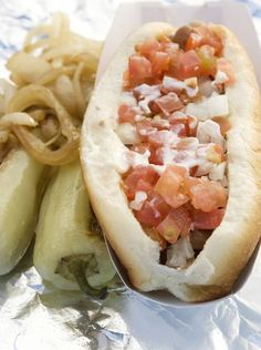 2. Celebrate the Fourth right with a Sonoran-style hot dog from Nogales Hot Dogs.