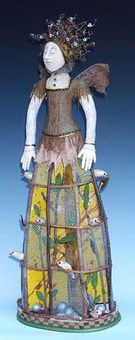 akira studios - Avian intelligence doll. Love it. I took a class w/Akira decades ago.