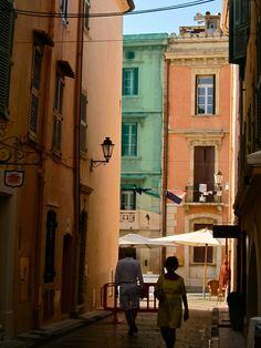 Agog in St. Tropez.