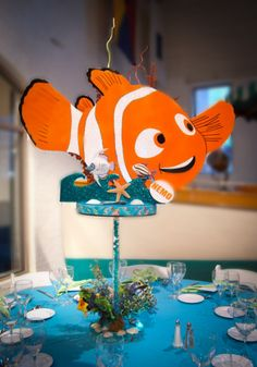 Themed Centerpieces - Finding Nemo Centerpiece