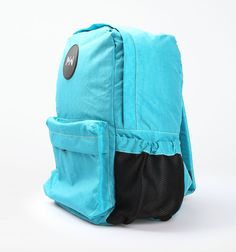 Backpacks in various colors by Monday 2 Weekend. Lengths x width x height = 31 cm x 17 cm x 44 cm.  http://www.zocko.com/z/JKN8r