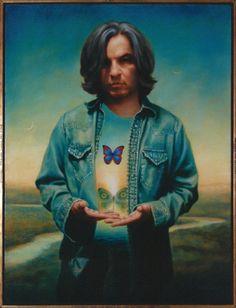 Roi James ~ Self-Portrait, 2009 (oil)