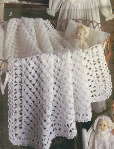 Instant PDF Download Vintage Crochet Pattern to make A Lacy Heirloom Baby Christening Shawl or Blanket for Cot Crib or Pram I sell both UK and US Patterns, I do not state in each listing if the listing has US or UK terminology however I include a PDF of Conversion Charts The listing is for the digital pattern only, not the physical item shown in the photos nor a hard copy of the pattern. The pdf will be available for download as soon as your payment is cleared. Detailed download…