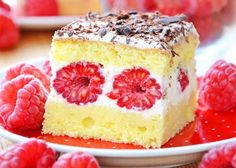 Delicious Deserts, Yummy Food, Romanian Desserts, Fresh Fruit Cake, Jacque Pepin, Sweet Treats, Cheesecake, Food And Drink, Tasty
