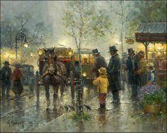 gerald harvey jones paintings - Google Search