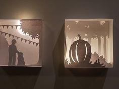 my cut paper dioramas by karaschlind, via Flickr