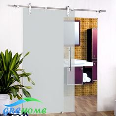 6.6 FT SS 304 barn glass sliding doors hardware closet system ** Details can be found by clicking on the image.
