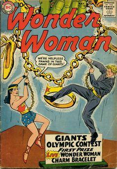 Wonder Woman 106. The Human Charm Bracelet (May, 1959)