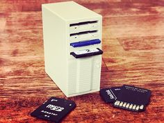 SD card holder by It's All Geek3D