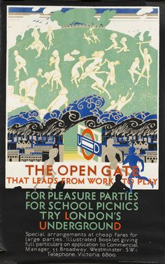 The Open Gate That Leads From Work To Play, by Frederick C. Herrick, 1925