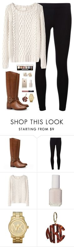 """""""chunky knit"""" by classically-preppy ❤ liked on Polyvore featuring Tory Burch, James Perse, Band of Outsiders, Essie, NARS Cosmetics, Michael Kors, Bobbi Brown Cosmetics and Kate Spade"""