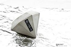 Blingin Favour Concrete Diamond, Gift Idea, large Cement Diamonds, cement paperweight, home decor, handcrafted diamond beton sculptures