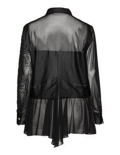 Elisa Cavaletti Embellished fabric blend blouse in Black