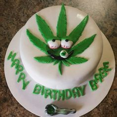 20 Ideas for Weed Birthday Cake Weed Birthday Cake, 40th Birthday Cakes, 20th Birthday, Birthday Stuff, Happy Birthday, Birthday Event Ideas, Cakes For Men, Specialty Cakes, Recipes From Heaven