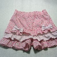 Felicity Sewing Patterns --- Silly Frilly Shorts for girls 1 - 10 years old.