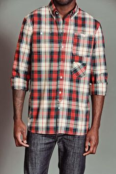 Plaid Button Down Shirt / by Amongst Friends
