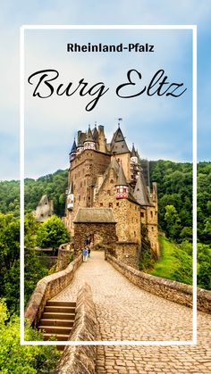 I'll take you to three castles in Rhineland-Palatinate: Thurant Castle, Cochem Castle and Eltz Castle, and show you how beautiful they are! Cool Pictures, Beautiful Pictures, Small Castles, Rhineland Palatinate, Reisen In Europa, Bucket List Destinations, Weekend Trips, Germany Travel, Luxury Travel