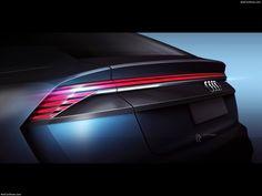 AUDI Q89 Concept LED Taillamp Design Sketch