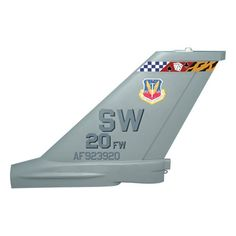20 FW F-16C Tail Flash