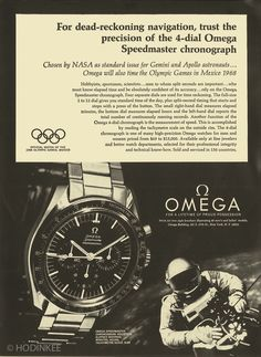 Vintage Watches Reference Points: Understanding The Omega Speedmaster (VIDEO) - For the third installment of Reference Points, we examine the legendary Omega Speedmaster, a watch that has become a brand unto itself over the last 60 years. Omega Speedmaster Moonwatch, Omega Seamaster, Best Watches For Men, Cool Watches, Wrist Watches, Sport Watches, Dream Watches, Luxury Watches, Speedmaster Professional