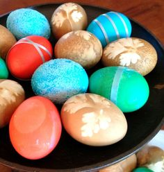 Creative Easter Egg Decorating- All She Cooks