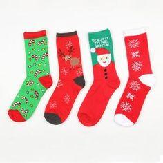 """Universe of goods - Buy """"New Autumn winter new year Santa Claus Christmas Snow Elk Gift socks long sock cotton socks men women size EUR for only 2 USD. Fluffy Socks, Backless Bodysuit, Winter Socks, Crochet Woman, Women's Socks & Hosiery, Cotton Socks, Pajamas Women, Christmas Ornaments, Merry Christmas"""