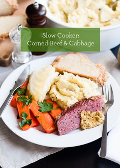 Slow Cooker Recipe: Corned Beef and Cabbage! #StPatricksDay