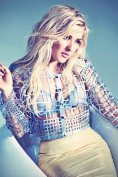 Ellie Goulding in Glamour Magazine UK
