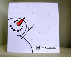20 Amazing handmade Christmas cards that your friends and family will love! These handmade christmas cards are the perfect Christmas gift! Watercolor Christmas Cards, Christmas Card Crafts, Homemade Christmas Cards, Christmas Drawing, Kids Christmas, Homemade Cards, Handmade Christmas, Holiday Cards, Christmas Decorations