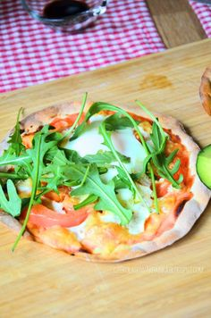 Pizza w 5 minut bez drożdży Frittata, Vegetable Pizza, Grilling, Food And Drink, Vegetables, Crickets, Vegetable Recipes, Veggies
