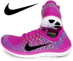 buy popular 1f183 0d2bf Nike Women s Wmns Free 4.0 Flyknit, FUCHSIA FLASH BLACK-ALUMINUM-PERSIAN  VOLT, 5.5 M US
