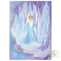 Winter ~ King Winter ~ Watercolor Painting