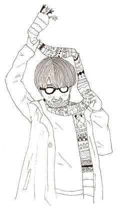 guy with scarf