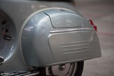 Roller garaje garaje plegable Vespa azul px PV Rally Sprint
