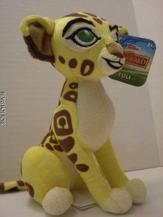 Disney *  THE LION GUARD* Plush Fuli the Cheetah Toy NWT  New release #JustPlay