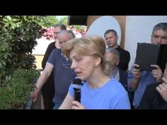 Medjugorje : Testimonianza di Mirjana 1 Maggio 2013 - YouTube