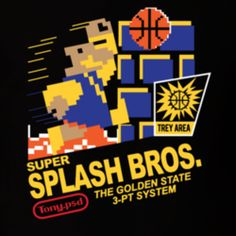 Super Splash Bros Golden State Klay Thompson Stephen Curry T Shirt
