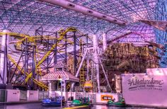 The Adventuredome  Where: Las Vegas, NV  Las Vegas, long the city of gambling thrills, is quickly becoming known for roller coaster thrills as well. The Adventuredome, located on the Circus Circus property,  10 Best US Theme Parks for 2014 | Fodors