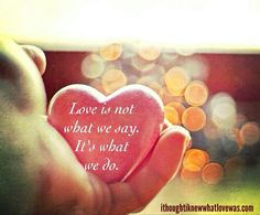 Liefde is niet