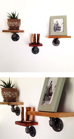Charlie Wall Shelves - Set of 3
