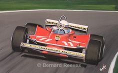 Jodi Scheckter at the Nurburgring - Formula 1 cars and drivers