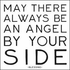 i believe in angels <3