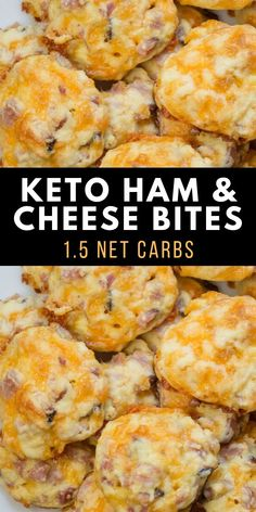 These Keto Ham and Cheese Bites are only net carb and great warm or cold! This is an easy keto meal prep recipe! These Keto Ham and Cheese Bites are only net carb and great warm or cold! This is an easy keto meal prep recipe! Ketogenic Recipes, Diet Recipes, Healthy Recipes, Vegetarian Recipes, Keto Veggie Recipes, Quark Recipes, Chicken Recipes, Healthy Food, Best Low Carb Recipes