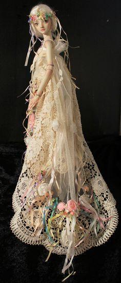 Fern:   full  length view of dress