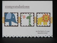 Congratulations Baby by addicted2crafts - Cards and Paper Crafts at Splitcoaststampers