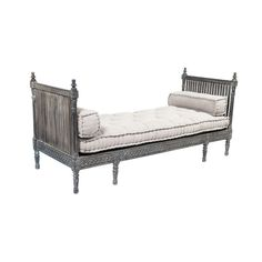 Wooden Carved Daybed - $1,400 Est. Retail - $700 on Chairish.com