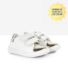 Deportivos de bebé solares amarillo - Calzado - Bebé - Osito by Conguitos #conguitos #osito #shoes #collection #ss18 #amarillo #sneakers #zapatillas #deportivos #solares