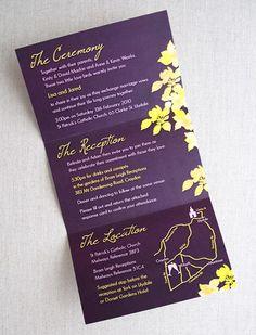 #purple #green #invite #invitation
