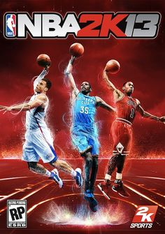 Your NBA 2K13 Cover Boys Are Official: Kevin Durant, Derrick Rose, and Blake Griffin