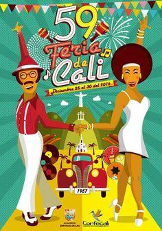 Estan todos invitados a mi tierra querida, #Cali #Colombia a la Feria #59